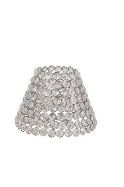 PR Home Lampeskjerm Classic Eksklusiv lampeskjerm i metall. <br>Ringfeste E27. <br>Mål topp/bunn - 10/19 cm. <br>Høyde 11 cm.