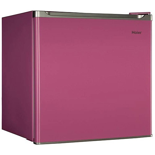 New Haier PINK Mini Fridge Compact Refrigerator And Freezer Small Cooler  Dorm, Energy Star Compliant Part 60