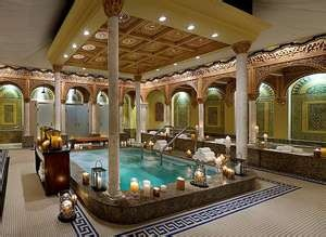 I just did the Ritual Bath at the Spa Palazzo's in the Waldorf Boca Resort and it was amazing!  Before any treatment, this 50 minute ritual provides an overall feeling of decadence and well-being. By using various pressures and temperatures of water, you become calm and relaxed, ready to receive your next treatment's benefit at maximum potential.
