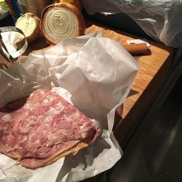 European Head Cheese - ah memories of childhood....