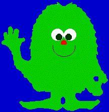 Il ritorno del Mostro Verde Peloso con gli Occhi a Palla / a