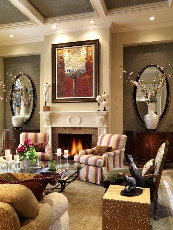 Living Room Traditional Decorating Ideas Enchanting Decorating Design