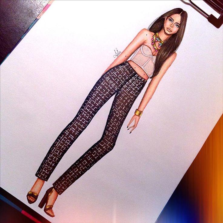 #Fashion illustration