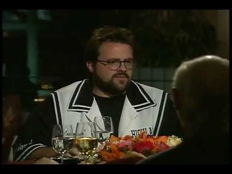 Dinner For Five S03E03 - Kevin Smith, George Carlin, Jason Biggs, Stephen Root - YouTube