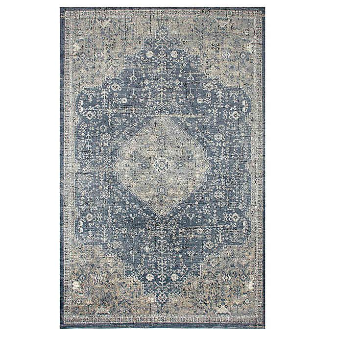 Bee Willow Home Winchester Area Rug In Navy In 2020 Rugs