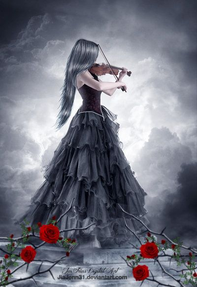 Every rose has its thorn by JiaJenn31 on deviantART