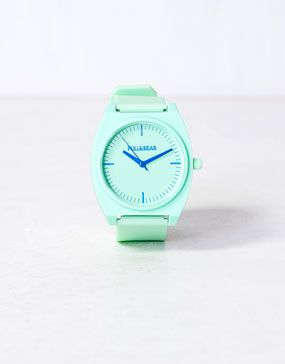 mint watch #pullandbear