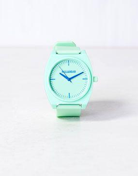 mint watch #pullandbear