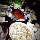 Momofuku Ssäm Bar – Bo Ssam came with oysters – New York, NY, United States