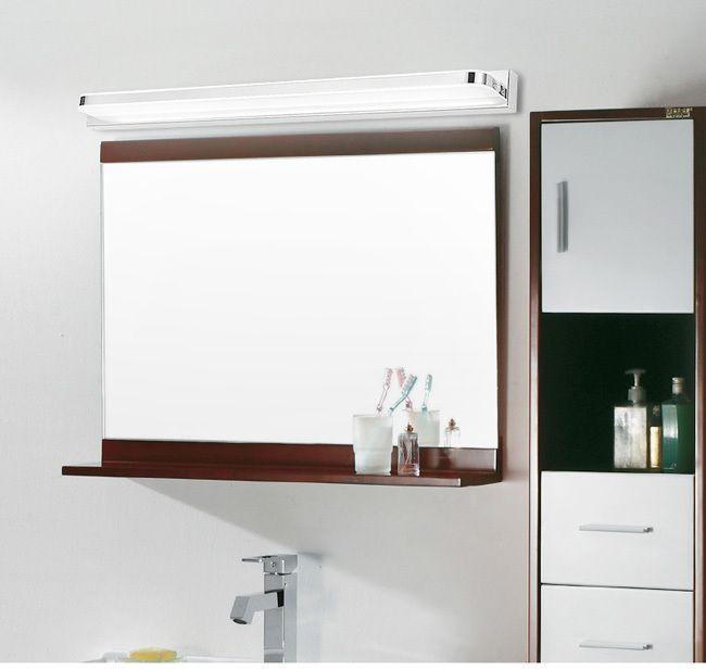 Tanbaby 3 Вт зеркало в ванной передние фары водонепроницаемый Акриловые тень мягкий свет SMD2835 энергосберегающие светодиодные лампы для внутреннего освещения