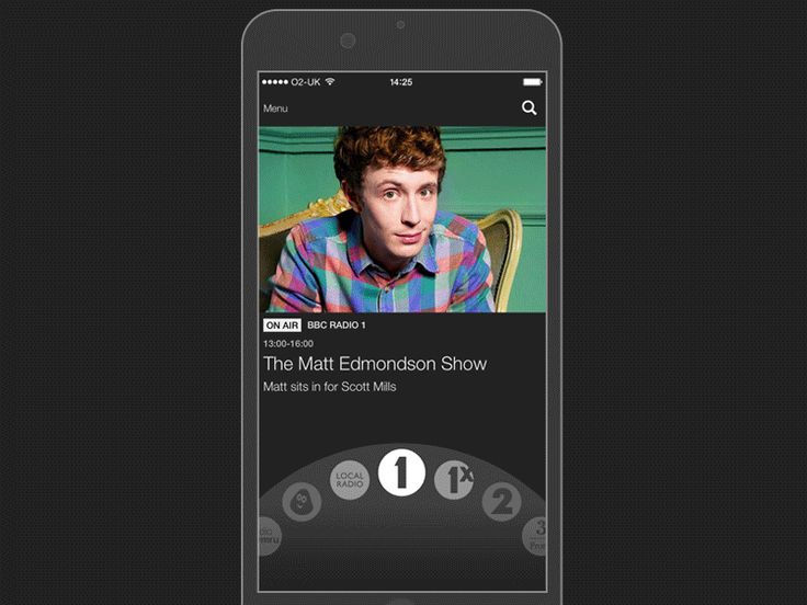iPlayer Radio App by Simon Meredith