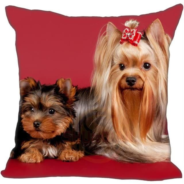 Yorkshire Terrier Pillow Cases