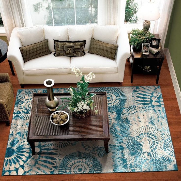 Burlington Coat Factory Home Decor: Medallion Rug - Burlington Coat Factory