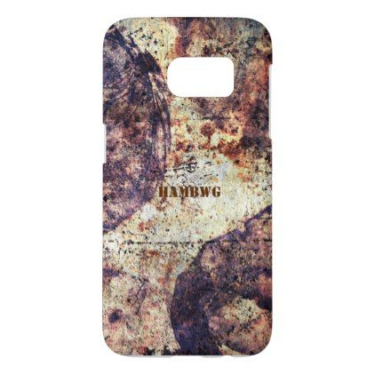 HAMbWG  - Samsung G 5 Case - Rustic - rustic style country natural diy customize personalize