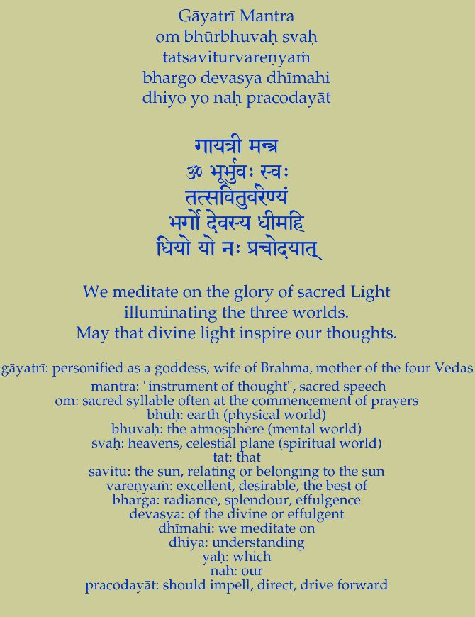 Sanskrit Of The Vedas Vs Modern Sanskrit: Sanskrit Prayers And Mantras Http://www.tilakpyle.com