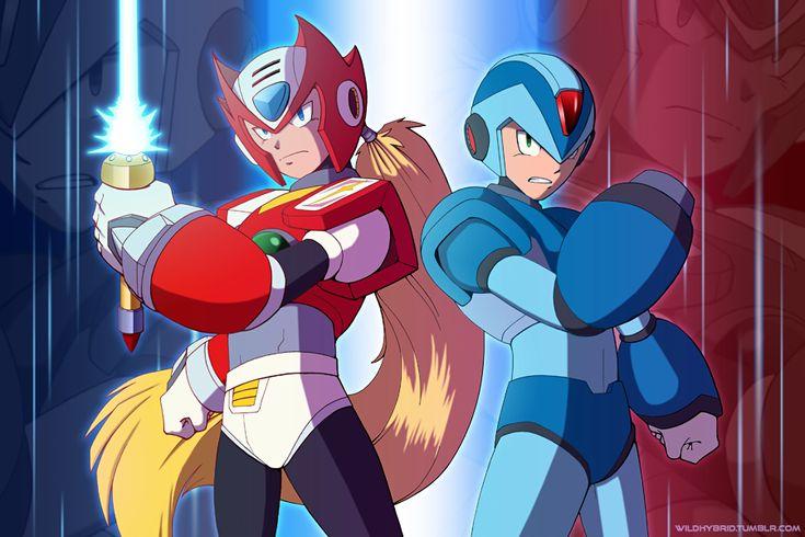 Zero and Mega Man X by straya on DeviantArt