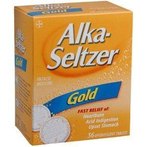 alka-seltzer gold + glutathione for herx relief