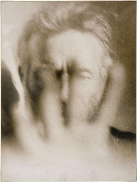 brancusi self-portrait-- I like the idea of this image. I do not like the style and execution.