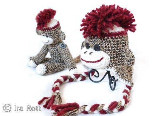 Knitted Mohawk Hat Pattern