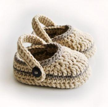 Más de 25 ideas increíbles sobre Zapatos tejidos para bebe en ...