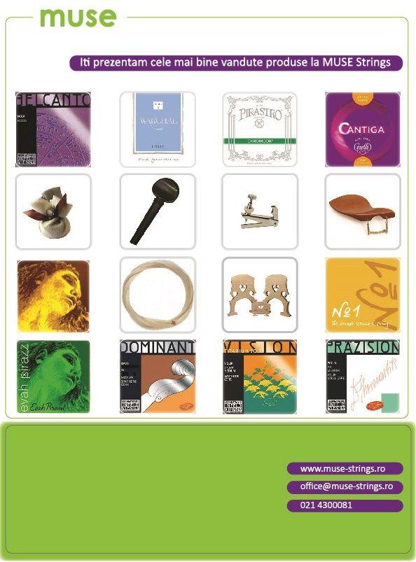 Corzi si accesorii pentru vioara, viola si violoncel