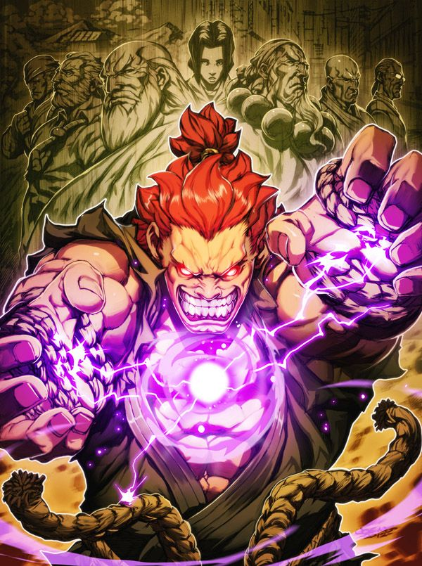 Akuma Origins by ~NgBoy on deviantART
