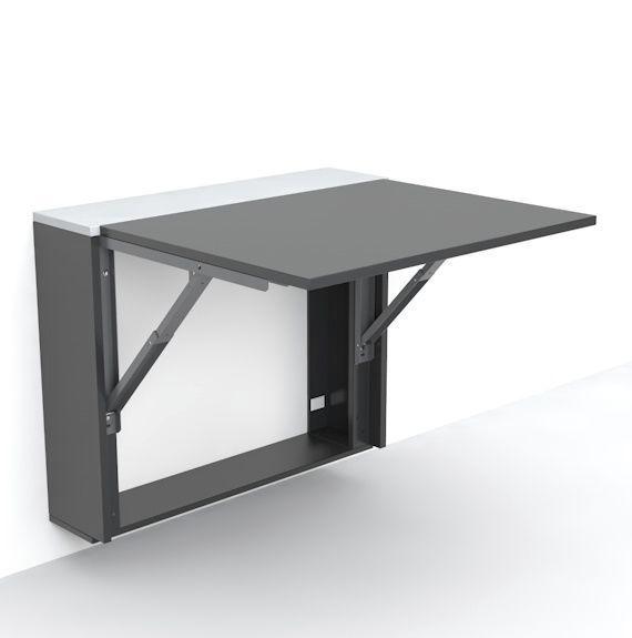 Las 25 mejores ideas sobre escritorio plegable en - Como hacer una mesa abatible ...