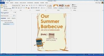 50 Ideas Dinner Menu Template for Home Inspirational Free Summer themed Templates From Microsoft