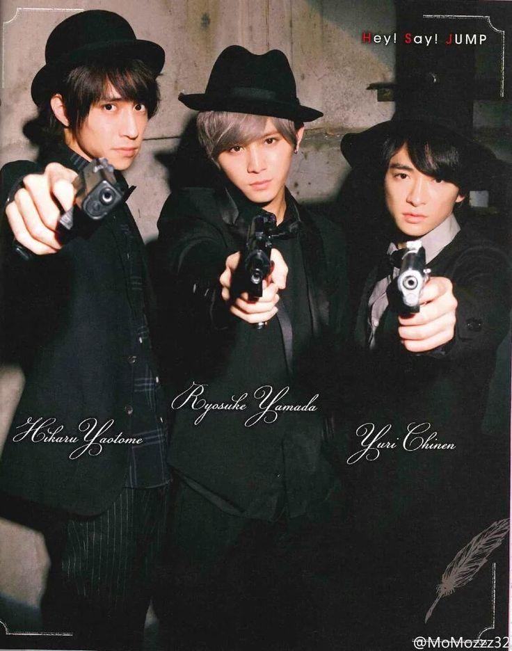 Yamada Ryosuke + Yuri Chinen + Yaotome Hikaru