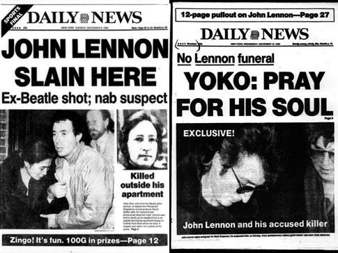 John Lennon Autopsy | John Lennon's death remembered by Daily News music critic Jim Farber ...