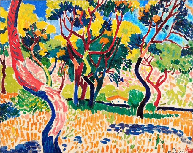 Andre Derain - Fauve Landscape  1905