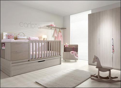 Las cunas convertibles de limba muebles de beb s - Habitacion convertible bebe ...