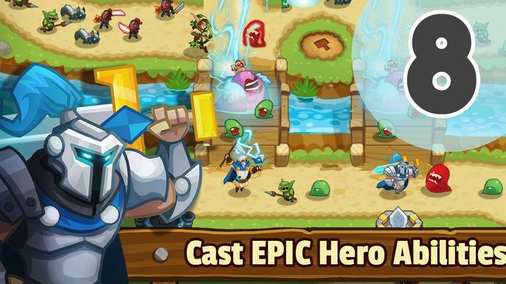 Tower Defense: Legends TD Walkthrough Level 8 - best mobile games iOS/An...