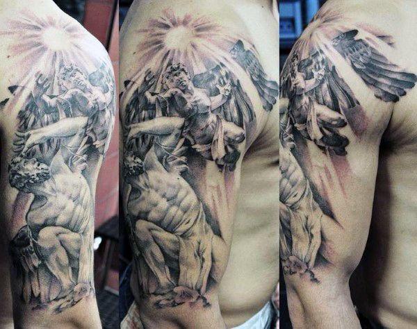 Best 25 greek symbol tattoos ideas on pinterest ancient for Greek sculpture tattoo