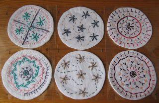OrloSubito it: sottobicchieri decorati a mano