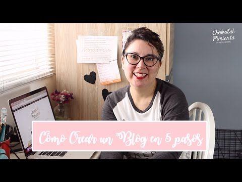 Cómo crear un blog en 5 pasos - Blogging 101| Chokolat Pimienta ♥