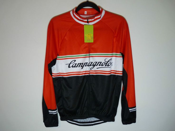 Campagnolo unbranded long sleeve cycling jersey maillot cycliste - NWT - Large