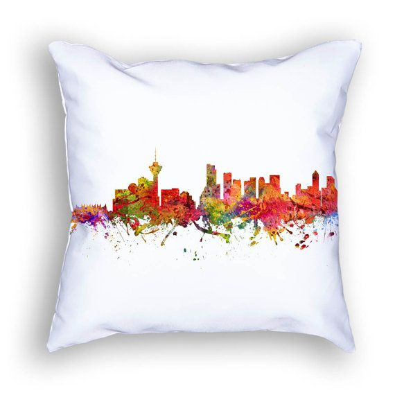 Vancouver Pillow Vancouver Canada Vaancouver Skyline