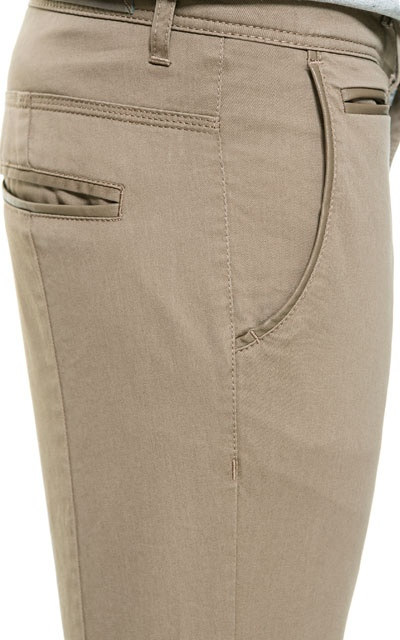 FAUX LEATHER CHINOS - Trousers - Man - ZARA India  Ref. 0706/450 2,790 INR