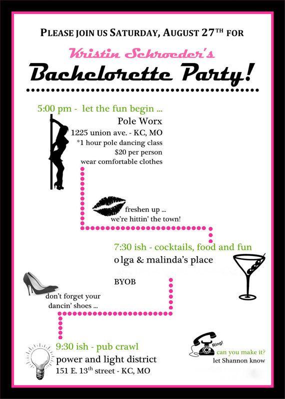 Bachelorette Party haha