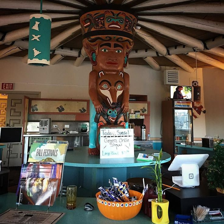 Spiffy breakfast diner in Taos New Mexico.