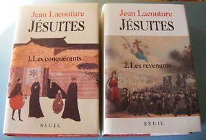 jean lacouture   Jean-Lacouture-Jesuites-Editions-du-Seuil-1991-1992-Deux-volumes