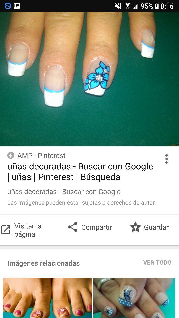 20 best Arte De Uñas images on Pinterest   Nails design, Nail nail ...