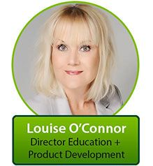 Professional Portraiture (or the corporate head shot) by LisaSista Photography for Louise O'Connor - Director Education + Product Development.