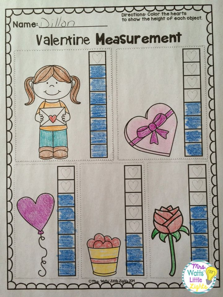 Valentine 39 S Day Literacy And Math Pack Non Standard