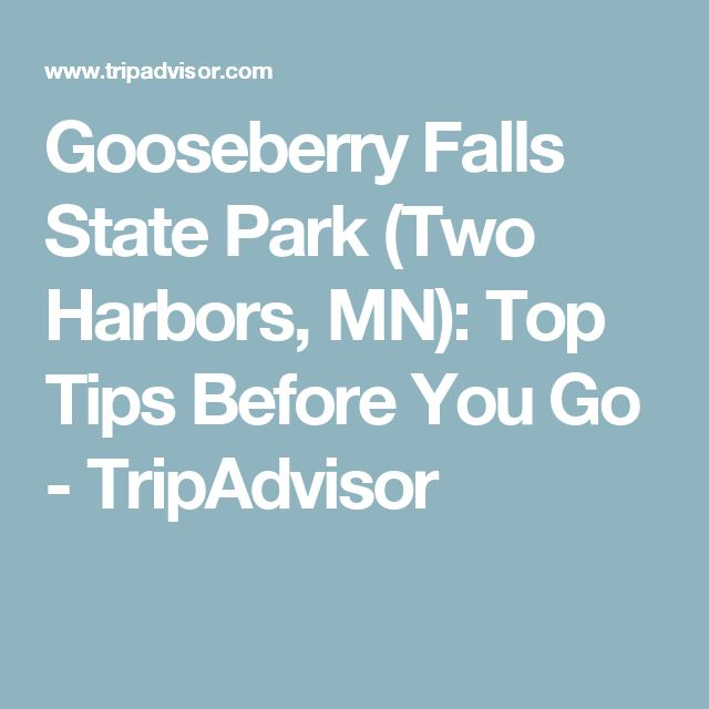 Gooseberry Falls State Park (Two Harbors, MN): Top Tips Before You Go - TripAdvisor