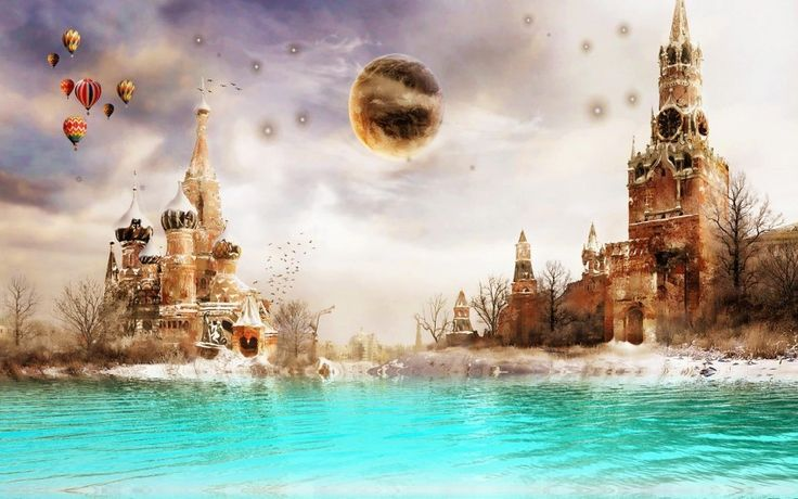 Moscow Dreamland Digital Art Download free addictive high quality photos,beautiful images and amazing digital art graphics about Fantasy / Imagination.