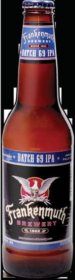 Batch 69 American IPA! 2011 Real Detroit Weekly 5th Annual Beer Cup Winner!