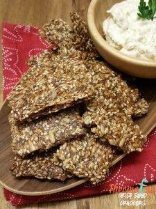 Crisp Seed Crackers - Week 15, 2016