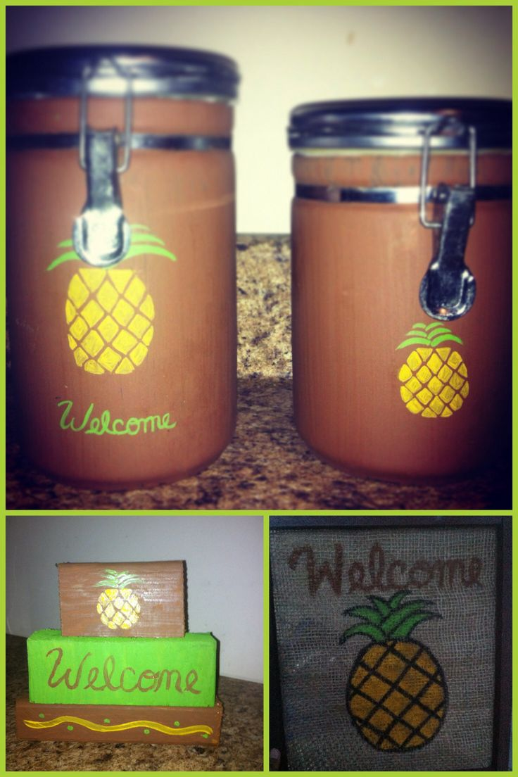 Beau 49 Best Pineapple Kitchen Images On Pinterest Accessories